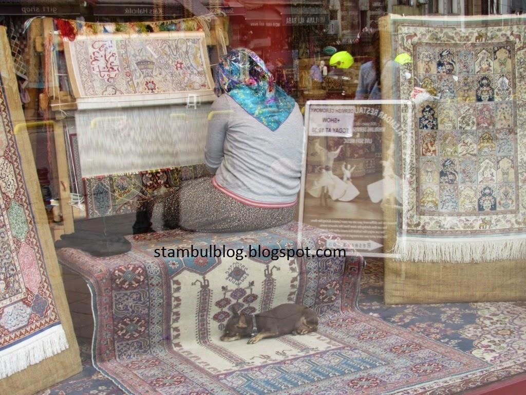 ковры в Стамбуле