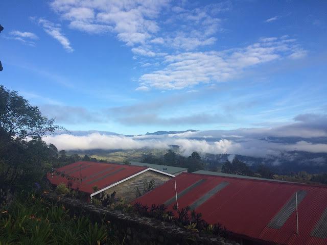The view from Rondon Ridge, Mount Hagen - Papua New Guinea