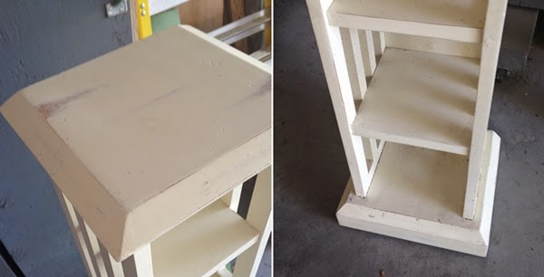 Thrift Store Find ~ Chalk Painted Makeover