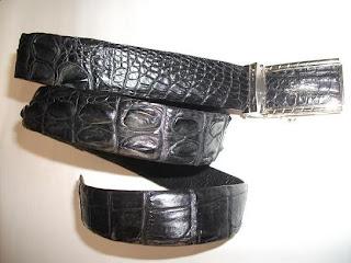 thắt lưng da cá sấu L11