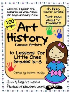 No Prep Art History for K-3