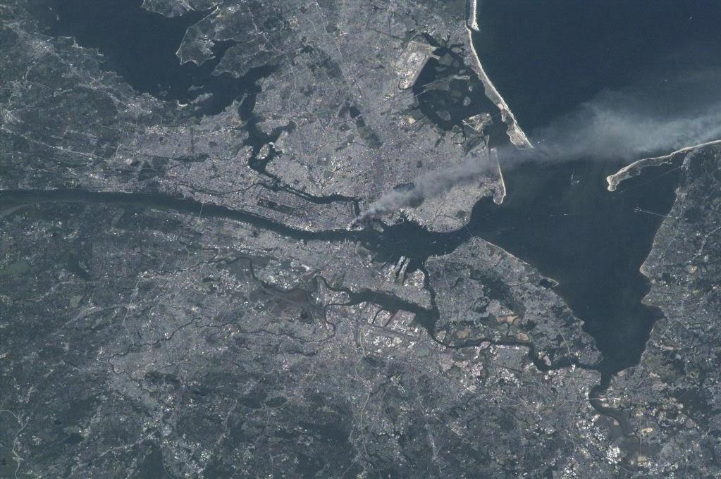 Manhattan NYC New York City space orbit randommusings.filminspector.com