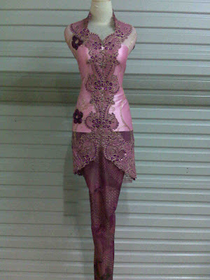Kebaya AP. Pink Magenta