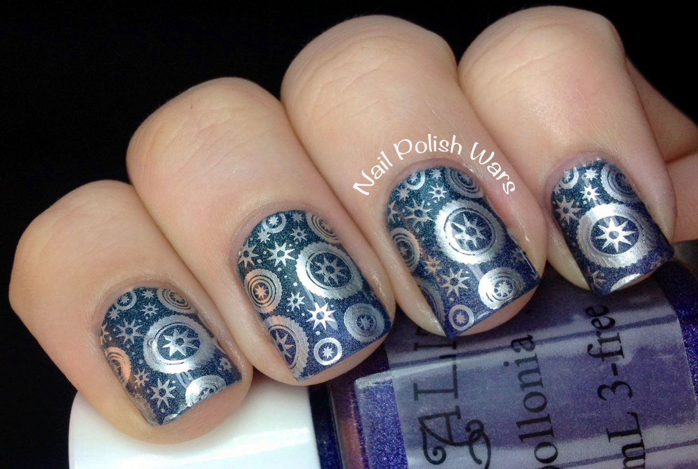 Nail polish wars simple steampunk for Easy steampunk ideas