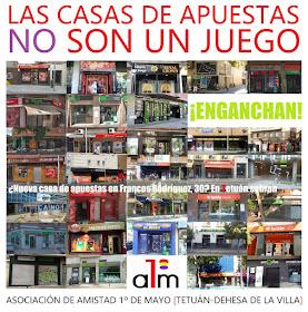 ¿Nueva casa de apuestas en Francos Rodríguez, 30? En Tetuán sobran
