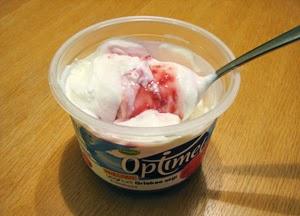 optimel griekse yoghurt framboos