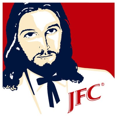 LOL Jesus Pictures: KFC? Nah! How About Some JFC!