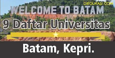 9 Daftar Universitas di Batam Kepulauan Riau
