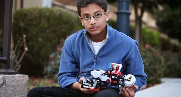 Jovem de 12 anos inventa impressora braille usando Lego (com video)