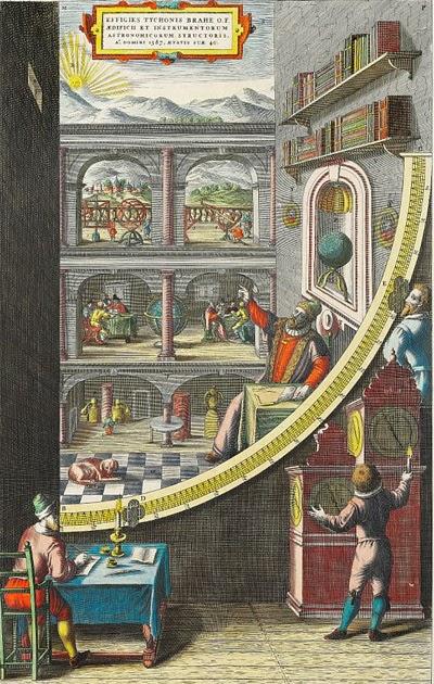 Booktryst Tycho Brahe 39 S Sculpture Garden Of Scientific