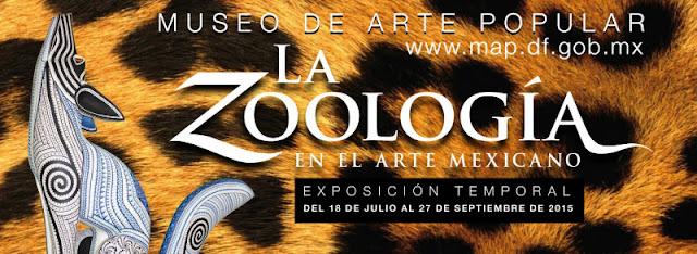 """Exposición """"La zoología en el arte mexicano"""" en el Museo de Arte Popular de Julio a Septiembre"""