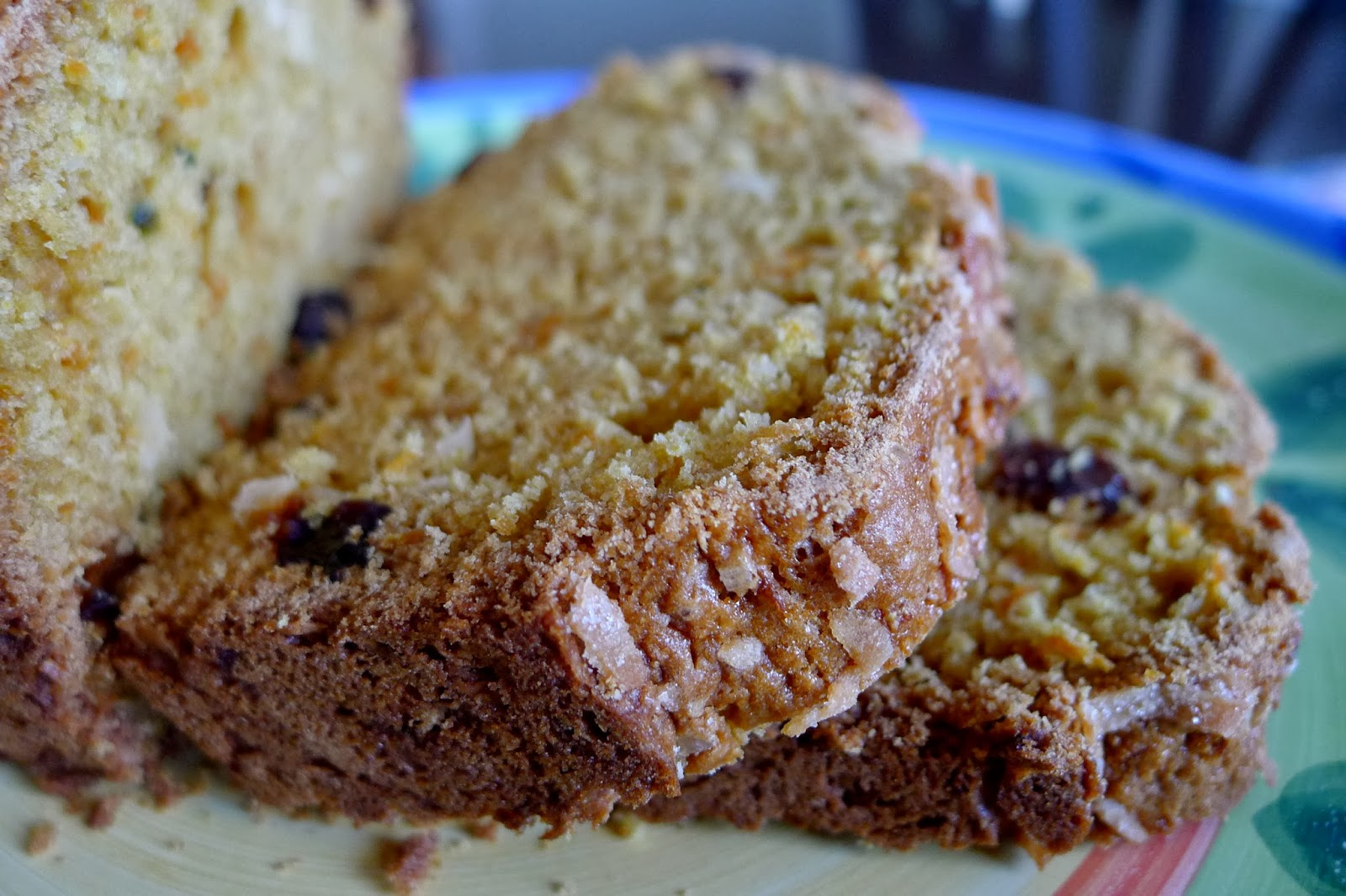 Carrot Coconut Bread Recipe