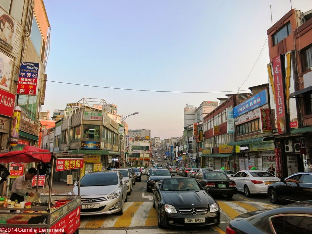 Tongsan main street