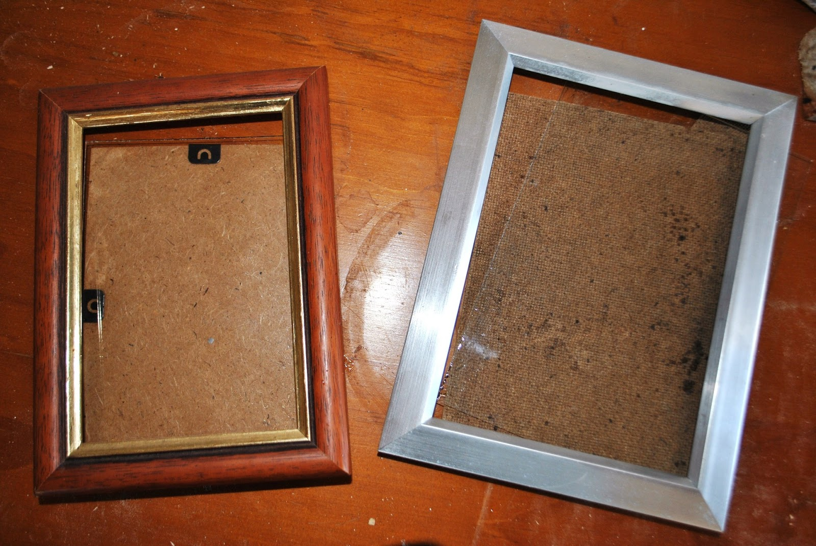 ive seen a few blogs where people have made their own photo frames using left over pieces of timber moulding the main problem with building your own photo - Dollar Store Frames