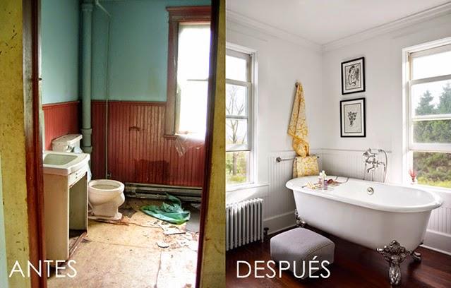 Antes y despu s una casa de campo tr s studio blog de for Reformas de casas viejas
