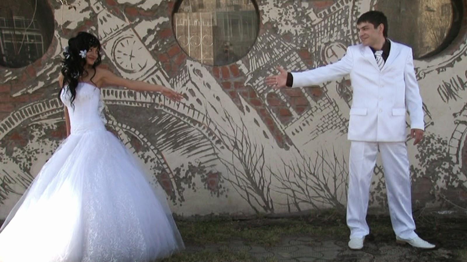 видеосъемка свадьбы в парке