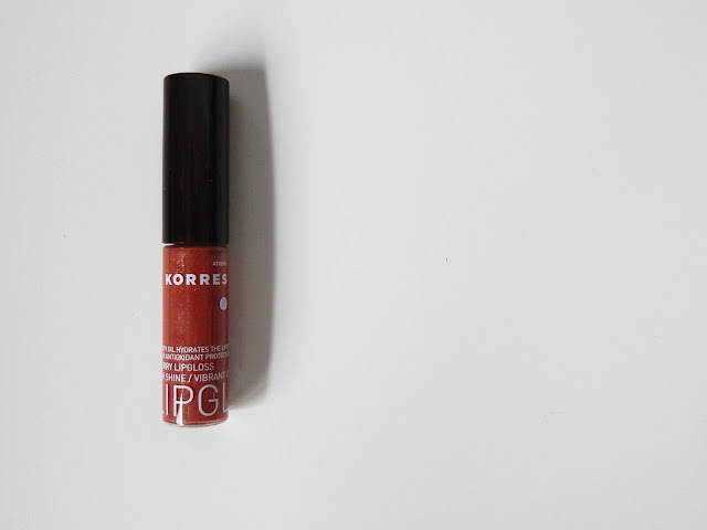 Korres Cherry Natural Full Colour Gloss 33 Nude