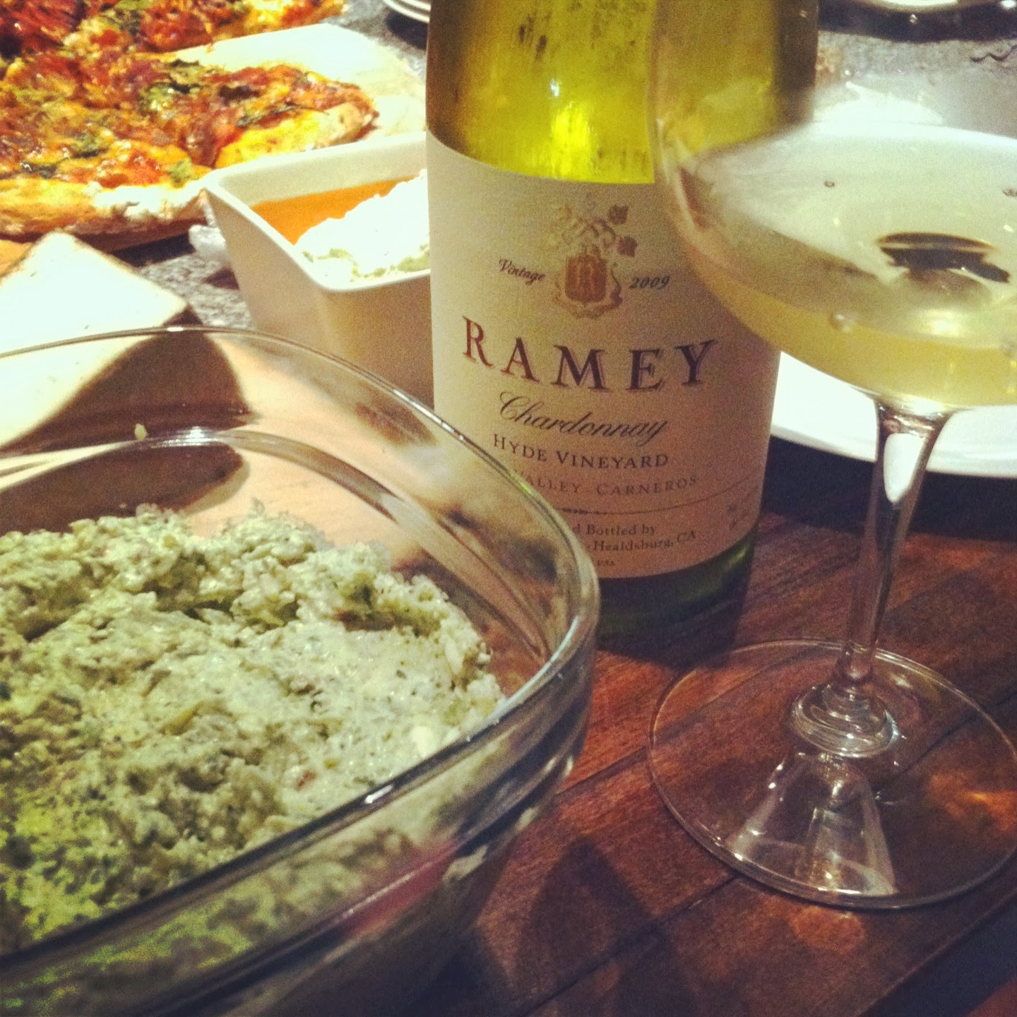Ramey Chardonnay, a Cooking Chat #Wine of Note selection