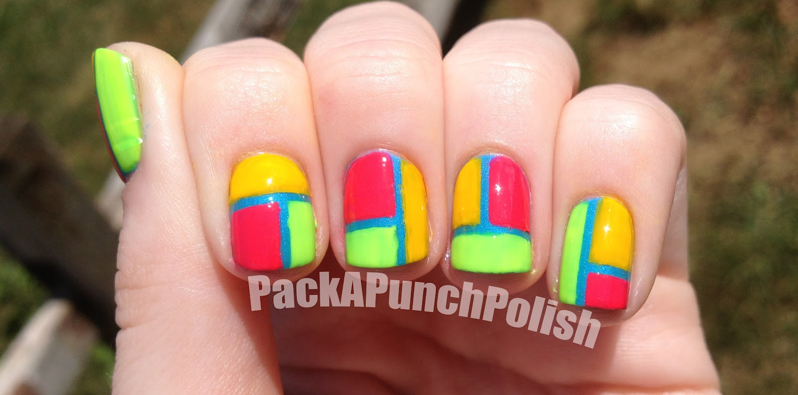 23 incredible Neon Colored Nails – ledufa.com