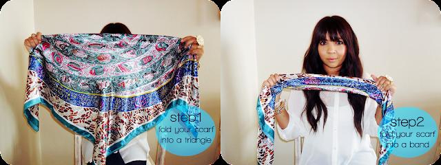 turban, turban headband, turband, scarf, tutorial, how to tie