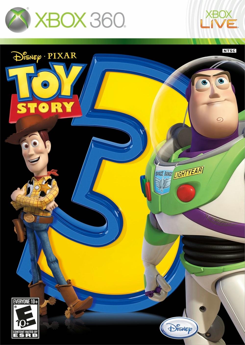 Toy story 3 2010 so para xbox 360 for Toy story 5 portada