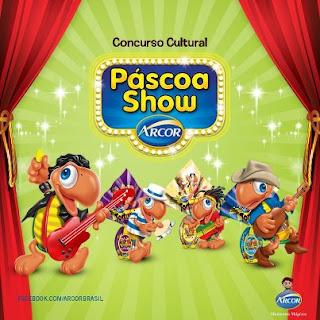 """Concurso Cultural """"Páscoa Show"""" - Arcor"""