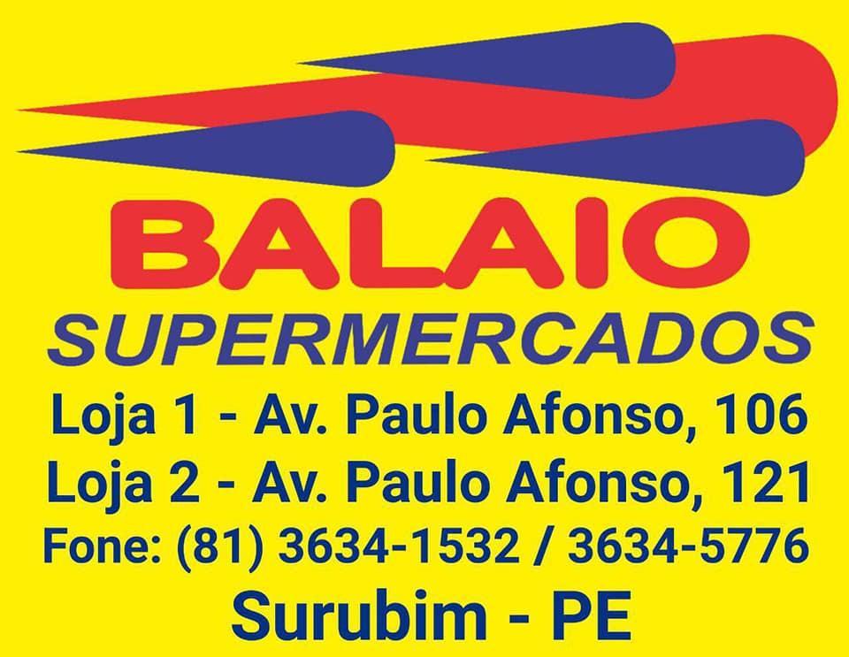 BALAIO SUPERMERCADO