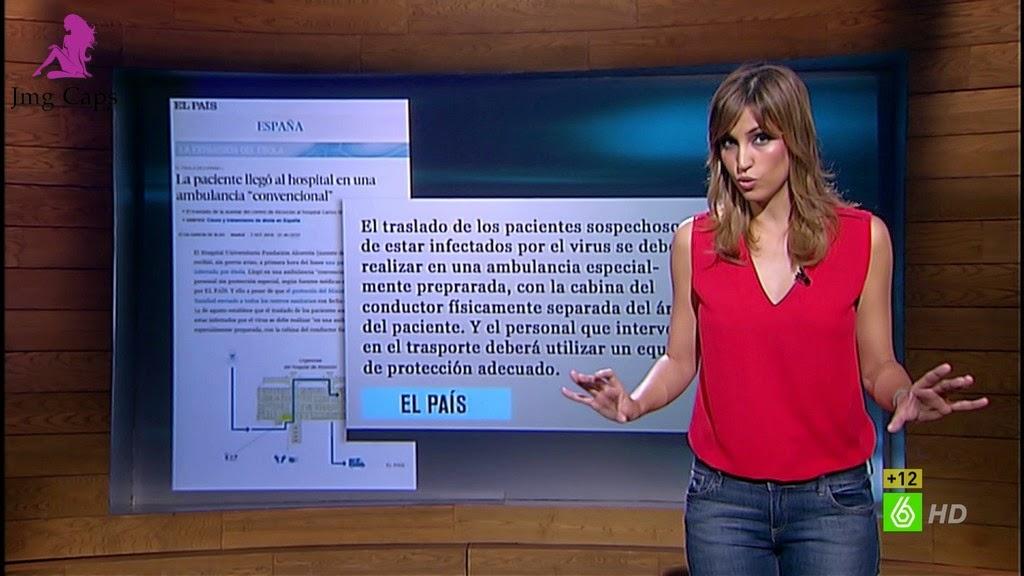 SANDRA SABATES, EL INTERMEDIO (08.10.14)