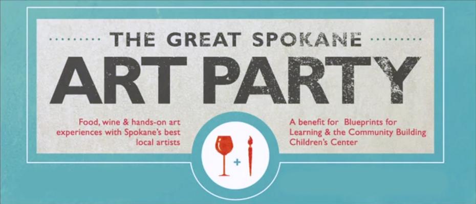 The Great Spokane Art Party