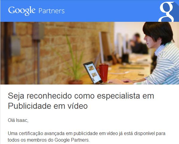Publicidade em Vídeo do Googel Adwords