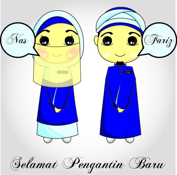 Gambar Kartun Muslimah Menangis
