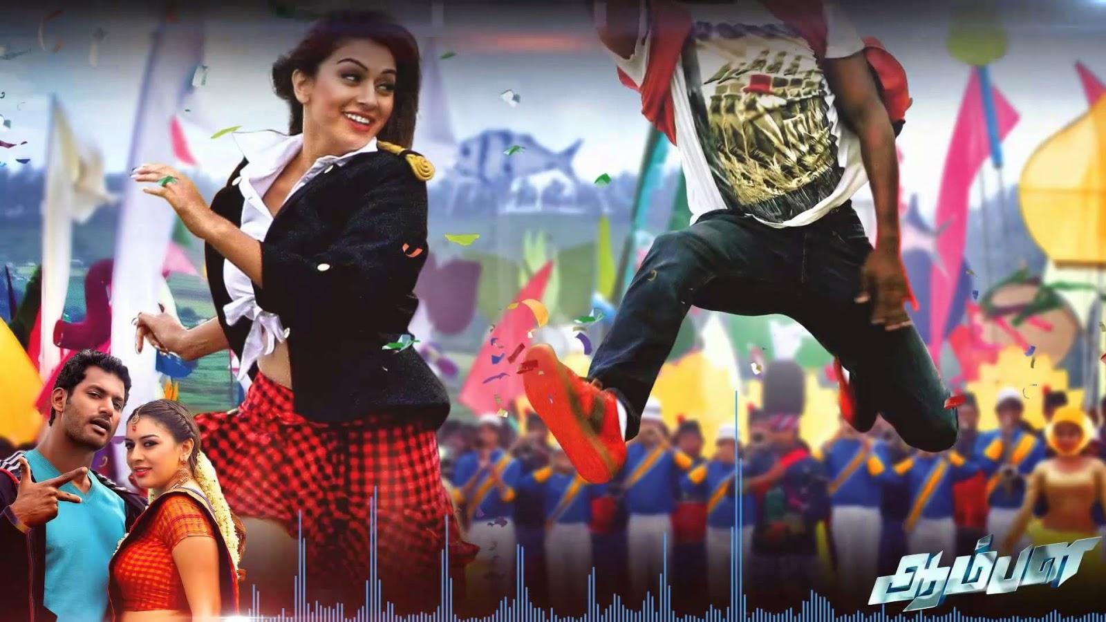 Pazhagikalaam Single Track With Lyric from Aambala Movie | Hiphop Tamizha
