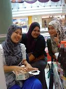 shoping with lovely friends at shah alam