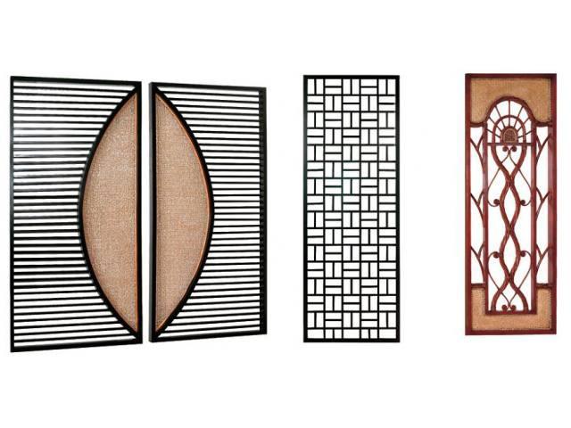 Gambar Dan Model Desain Pagar Pintu Besi Dengan Hiasan Anyaman