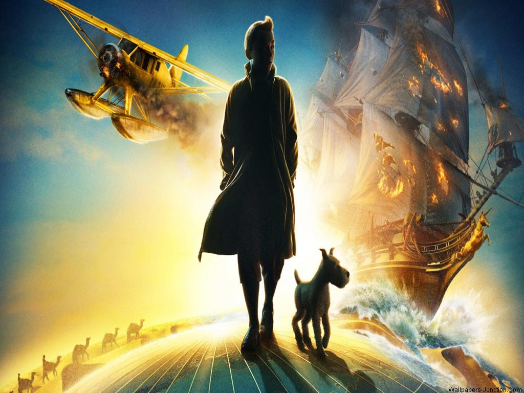 Hot Actress Image And Wallpapers Adventures Of Tintin Movie Wallpapers