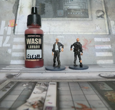 Zombicide zombie paint quickly good result walker easy how to paint blood