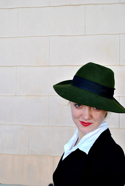 Flashback Summer:  Casablanca Week- Ingrid-Inspired Outfit