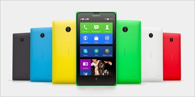 Nokia X - Ponsel Android sekaligus Windows Phone