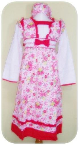 Model Baju Muslim Anak Perempuan Terbaru 2014 Baju