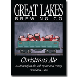 Sir Isaac Brewton: Great Lakes Christmas Ale: It\'s a Brew Christmas ...