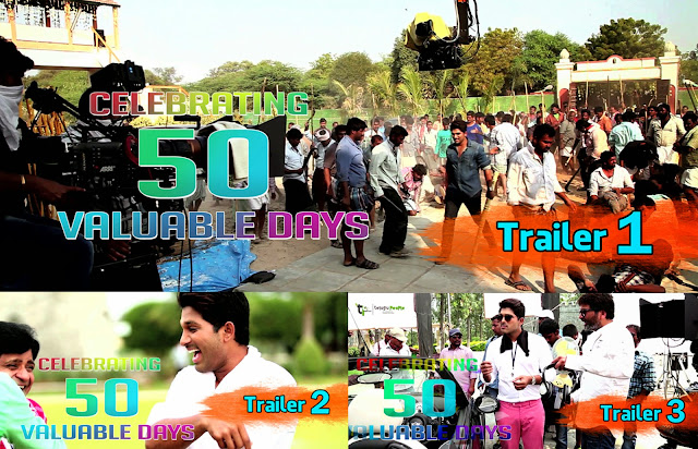 Son of Satyamurthy 50 Days Trailers | Allu Arjun | Samantha | Trivikram