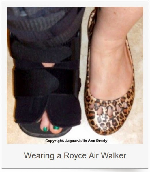 mortons neuroma surgery wearing royce air walker