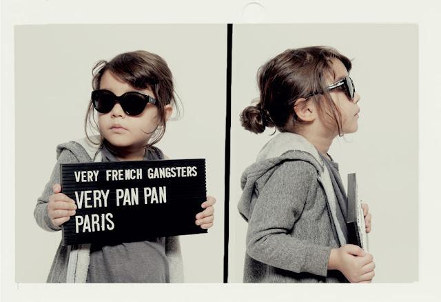 Very French Gangsters óculos criança