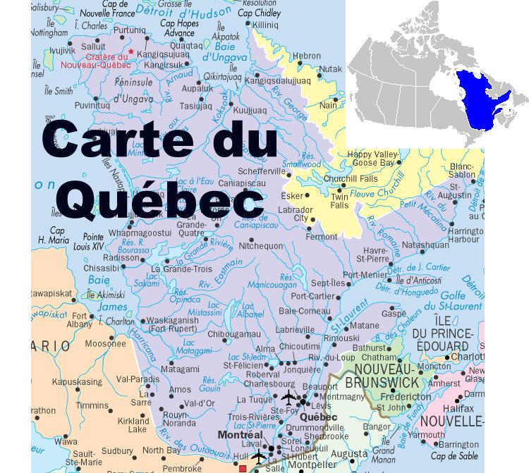 Carte Du Canada Montreal.Mon Voyage Du Canada Montreal