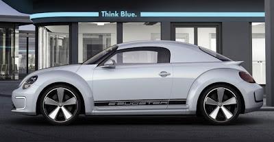 Volkswagen estrena su Beetle eléctrico, e-Bugster en Pekín