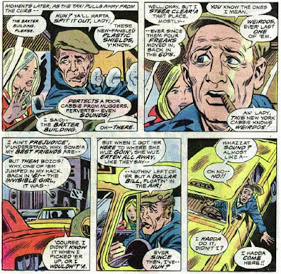 Fantastic Four #160 sequence