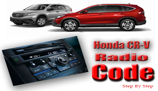 Honda crv radio code for Honda fit enter code