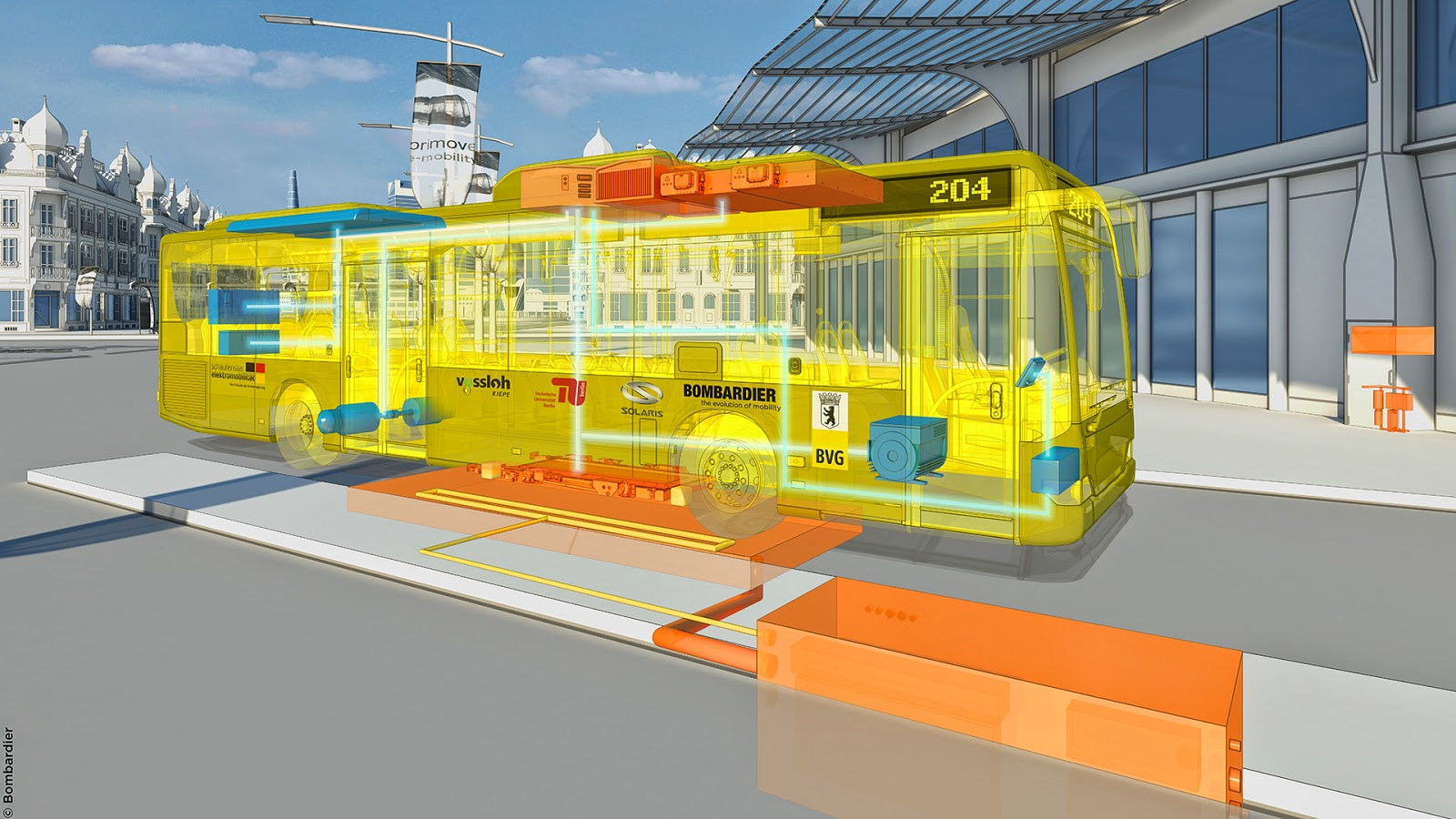 berlin adopte des bus electriques primove bombardier