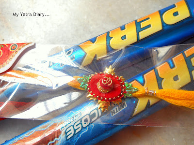 Sweets and rakhi - Raksha Bandhan