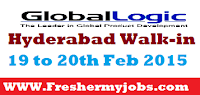 Walk-in at Hyderabad globallogic Technologies|Trainee Engineer